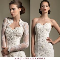 This cover up is great for a church wedding