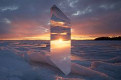 Reynald Drouhin | Recherches | Esquisses | Documents » Landscape Monolith