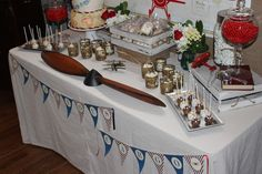 """Photo 1 of 51: Vintage Plane / Baby Shower/Sip & See """"Precious Cargo"""" 
