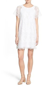 Madewell 'Lyric' Lace Shift Dress available at #Nordstrom