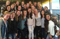 The 23 members of the U.S. women's team. (Twitter)