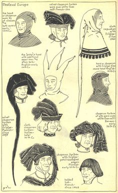 648 Best Medieval hats images in 2019  a15feba439a