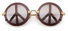 Peace, love, & happiness sunglasses