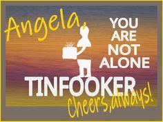 Angela, Cheers always~