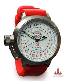 "Raketa ""Moon Explorer"" watch"