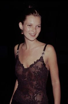 Young Kate Moss early 1990s