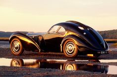 Bugatti Type 57SC Atlantic.  One of the most gorgeous cars ever built.