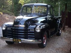 1953 Chevrolet 235 Pickup - this is the truck I need . . . from the year I was born!!! LOVE it!!! ♥♥♥