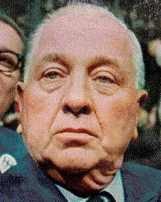 """They have vilified me, they have crucified me; yes, they have even criticized me."" Mayor Richard J. Daley ""Hizzonner"" if you're from Chicago! Chicago River, Chicago Area, Visit Chicago, Downers Grove, My Kind Of Town, Yesterday And Today, Best Cities, Politics, Political Corruption"