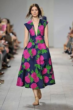 Blown-up blooms are big news for this season.