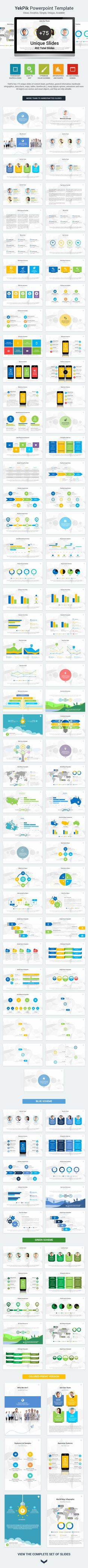 YekPix PowerPoint Presentation Template, clean, creative, simple, unique, scalable and multipurpose PowerPoint Template