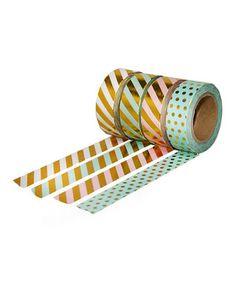 Industrious Washi Tape 15mm X 10m Art Supplies Multi Coloured Arrow