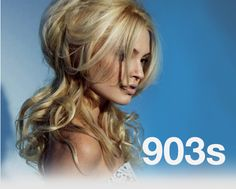 L'Oreal Brigitte Bardot Blonde Majirel 9.03 on natural level 6 with 40 vol peroxide.