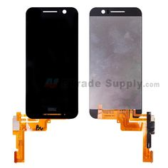 For HTC One S9 LCD Screen and Digitizer Assembly Replacement - Black - With HTC Logo - Grade S+ (0) #cell phone parts #HTC One S9 #etradesupply  https://www.etradesupply.com/