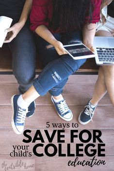When it comes to college savings, there's no shortage of confusion.here's 5 ways to save for your child's college education - find the right fit for you. Saving For College, Online College, College Hacks, College Savings, College Courses, Education College, Ways To Save, 5 Ways, Rent Textbooks