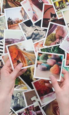 These cool magnets can be made with photos from your Instagram, camera-roll or desktop.Make lots!