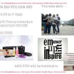 Go to BeautybyBowen.com & click on join, then search for Jennifer Bowen & join my team!