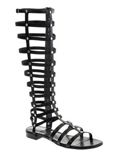 Stuart Weitzman at - Gladiator Sandal in Black - Women's Shoes Current Fashion Trends, Gladiator Sandals, Stuart Weitzman, Women's Shoes, Black, Closet, Woman Shoes, Armoire, Black People