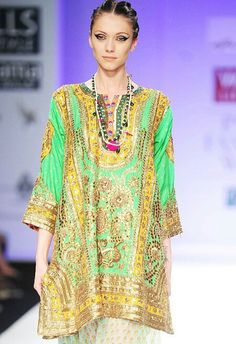 Anupama dayal lakme fashion week...