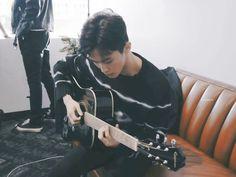Mark Lee, Winwin, Taeyong, Jaehyun, Nct 127 Mark, Lee Min Hyung, Wattpad, Latest Albums, Playing Guitar