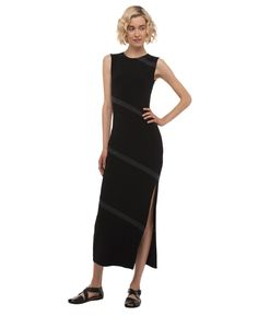 SPIRAL MAXI WITH SLIT