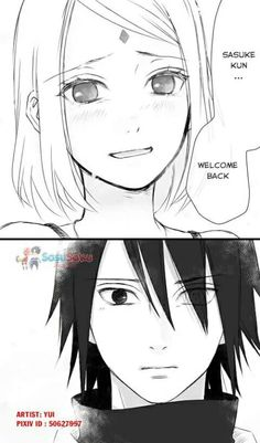 Aww they're adorable at a whole other level T.T #sasusaku
