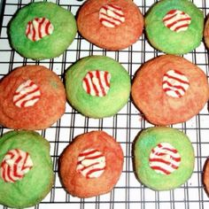 Mint kiss Christmas cookies!