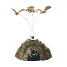 Item Number: 4054248 Materials: Metal, Polyresin, Plastic, LED Dimensions: 8.15 in H x 5.43 in W x 5.91 in L