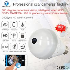 47.12$  Watch more here - 360 Degree Wifi IP Camera Network Wireless HD Camera Baby Monitor CCTV Security Camera Bulb EC Network Panoramic Camera   #aliexpress