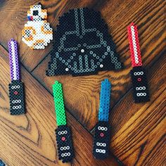 Star Wars perler beads by natashellen