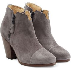 Rag & Bone Suede Ankle Boots (46390 RSD) ❤ liked on Polyvore featuring shoes, boots and ankle booties