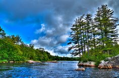 #Adirondacks #Moose River - An Early Summer on the Moose River at Fowlersville, New York.