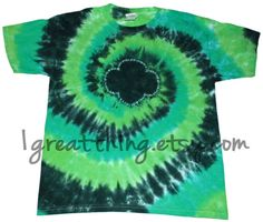 Girl Scout Trefoil Tie Dye T Shirt (Adult Sizes)  HOW did they do this?  It's awesome! :-)