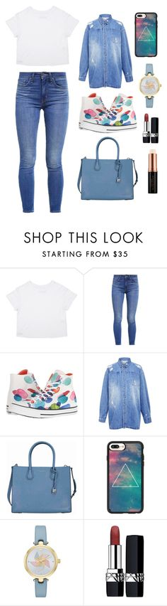 """Sans titre #4163"" by merveille67120 ❤ liked on Polyvore featuring Levi's, Converse, Edit, Michael Kors, Casetify, Kate Spade, Christian Dior and Anastasia Beverly Hills"