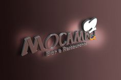 Logotipo criado para restaurante - Mocambo