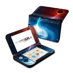 Black Hole Design Protective Skin Decal Sticker for Nintendo 3DS XL Handheld Gaming System: Video Games http://www.fit4skins.com/