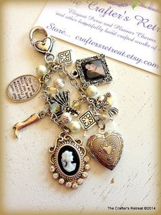 Jane Austens Pride and Prejudice Inspired Pendant This charm is dedicated to the Jane Austens Pride and Prejudice story. Includes a portrait