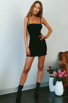 On The Defensive Dress Black