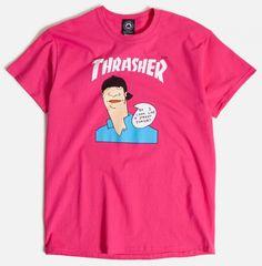6165bc0e678d7 Thrasher Gonz Cover Pink T-Shirt - ATBShop.co.uk