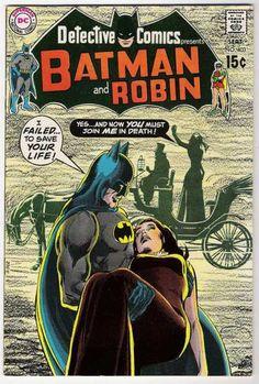 Carriage - Batman - Batman And Robin - I Failed To Save Your Life - Faint - Neal Adams
