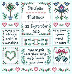 12585d2d666 Wedding Angels. Cross Stitch ...