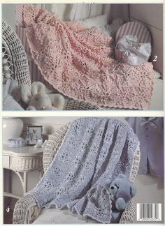Granny Square Baby Afghan Crochet Patterns