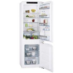 Buy AEG SCS71801F1 Integrated Fridge Freezer, A  Energy Rating, 56cm Wide Online at johnlewis.com