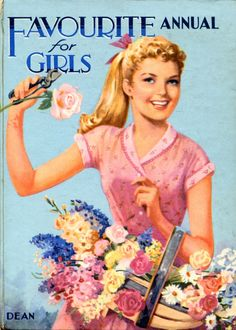 Dean'S Favourite Annual FOR Girls Mabel Esther Allan 1957