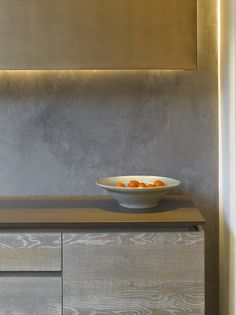 Roundhouse Urbo cabinetry in Driftwood finish with Dekton Keranium super durable worktop