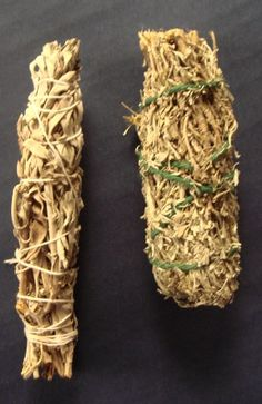 Sage Smudge Sticks for ritual cleansing, meditation, banishing & ceremonial use. Marie Laveau's House of Voodoo