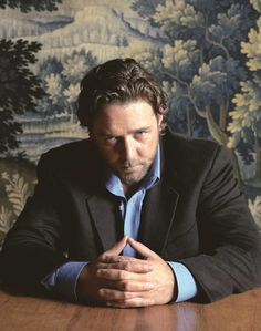 Russell Crowe - he might be a women beater but he's one of the damn finest actors I know!