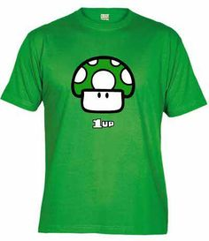 Camiseta Mushroom Up, la vida extra de Super Mario Bros