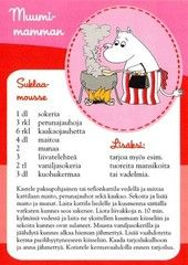 All things moomin. Delicious Desserts, Yummy Food, Tasty, Moomin Mugs, Finnish Recipes, Baking With Kids, Sweet Pastries, Old Recipes, Recipe Cards