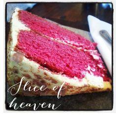 red velvet cake from Vovo Telo Velvet Cake, Red Velvet, Tiramisu, Cheesecake, Brunch, Restaurant, Meals, Ethnic Recipes, Desserts